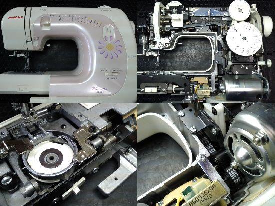 ジャノメミシン修理マリエッタ8080