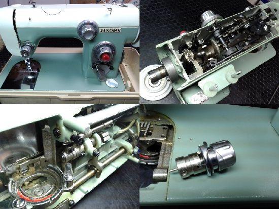 ジャノメミシン修理モデル670型