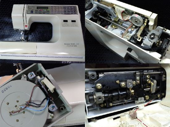 ジャノメミシン修理センサークラフト7000