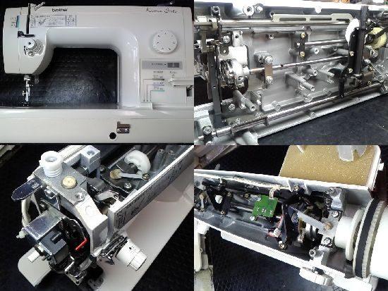 ブラザーミシン修理TA630