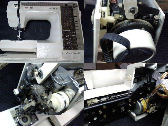 ジャノメミシン修理メモリークラフト6500