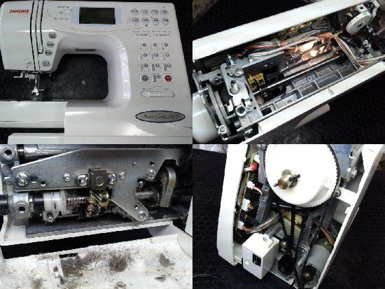 ジャノメミシン修理メモリークラフト5555