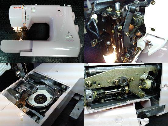 ジャノメミシン修理N-736SP(660型)