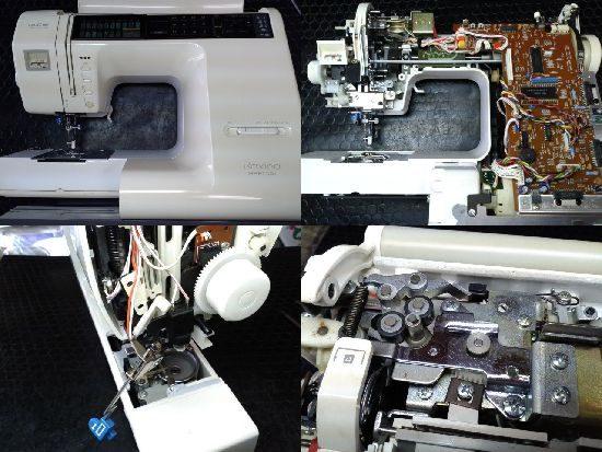 ブラザーミシン修理ラクシーナスペシャル(ZZ3-B890)