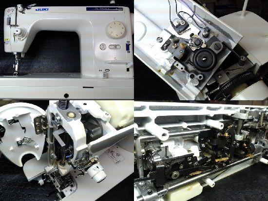 JUKIミシン修理SL-300EX