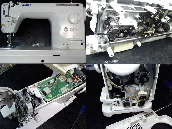 JUKIミシン修理シュプール30DX