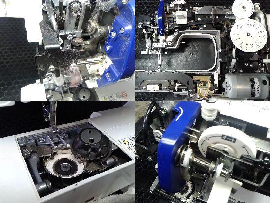 ジャノメJC570DX(502型)のミシン修理分解画像
