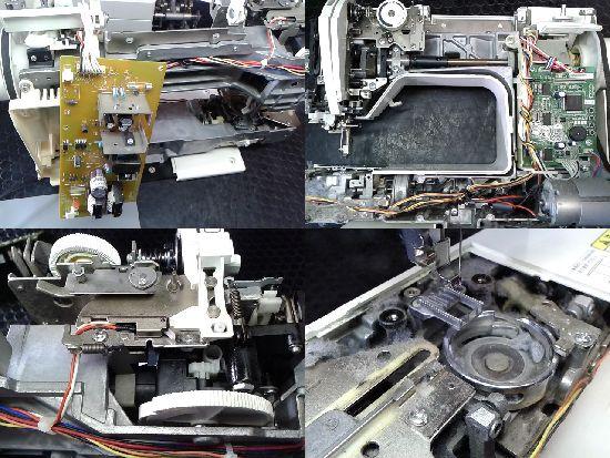 ブラザーアデッソ2(CPS72)のミシン修理分解画像