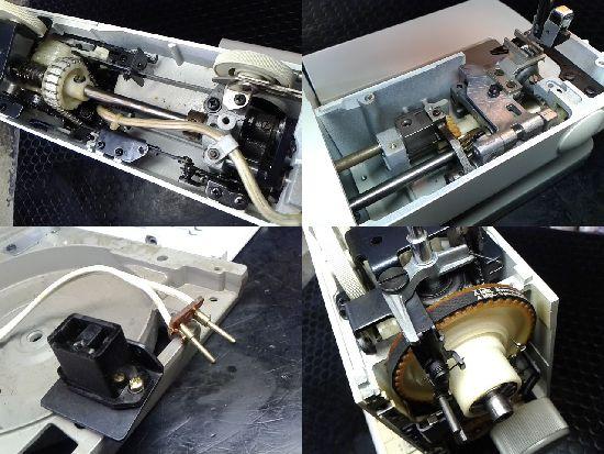 ブラザーZZ3-B790のミシン修理分解画像