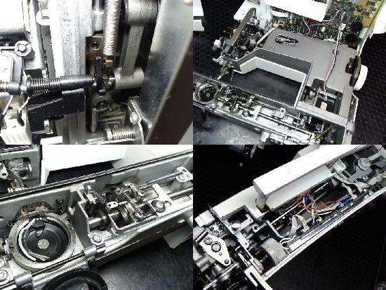 リッカーミシンの修理ベルニナ170