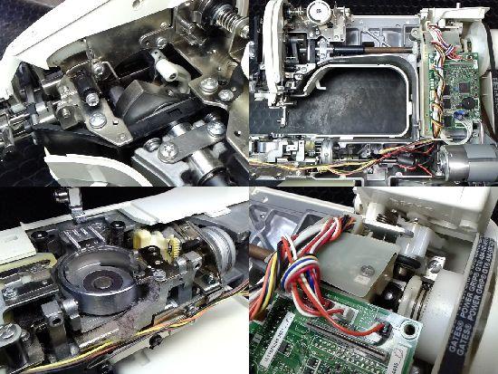 ブラザーBf-6500(CPS52)のミシン修理分解画像
