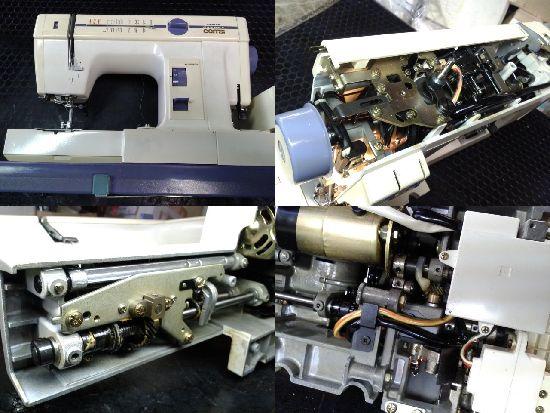 ジャノメコンビ2200SXのミシン修理