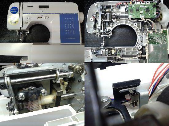 ブラザーミシン修理NS101(CPS41)