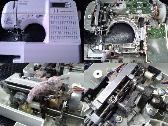 ブラザーミシン修理アニュドールブラン2(CPS48)