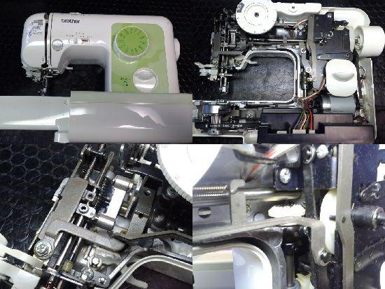 ブラザーA35-LGのミシン修理