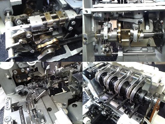ジューキベビーロック衣縫人Evolutionのミシン修理分解画像