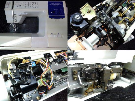 JUKIミシン修理HZL-7800