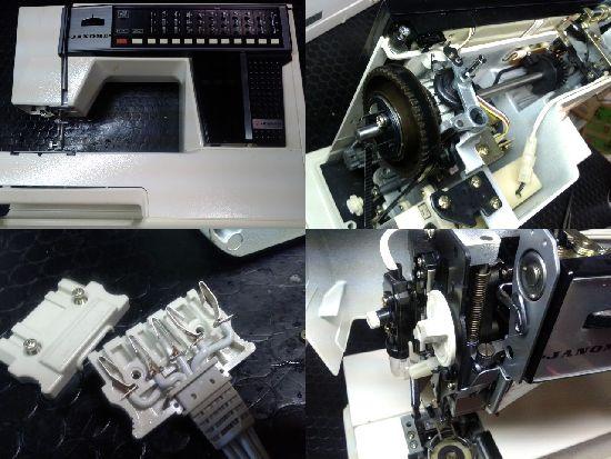 ジャノメミシン修理メモリア5002