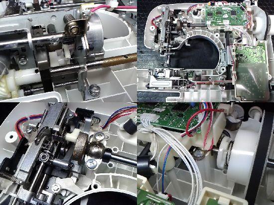 ブラザーミシンPS205(CPS42)の分解画像