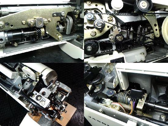 ジャノメミシン修理の分解画像S6060(751型)