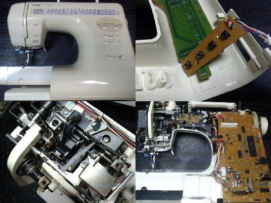 ブラザーミシン修理ZZ3-B823(Sache)