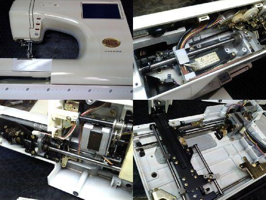 ジャノメミシン修理セシオEX3(9201型)