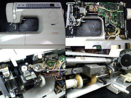 シンガーミシン修理コンピューター7900