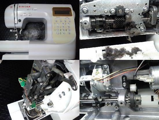 シンガーミシン修理SN777DX