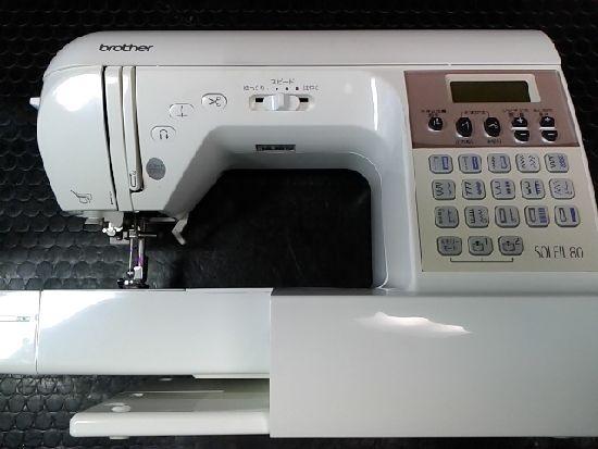 ブラザーミシンCPS7701ソレイユ80