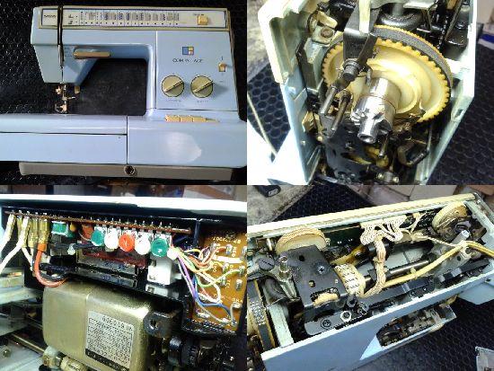 ブラザーミシン修理ZZ3-B766