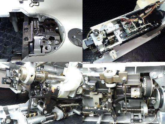 シンガー103デラックスのミシン修理分解画像