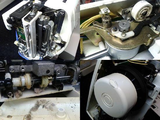 シンガー2670のミシン修理分解画像