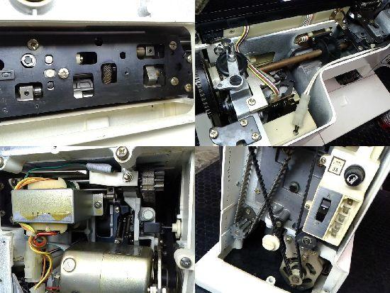 ジャノメメモリア5002のミシン修理分解画像