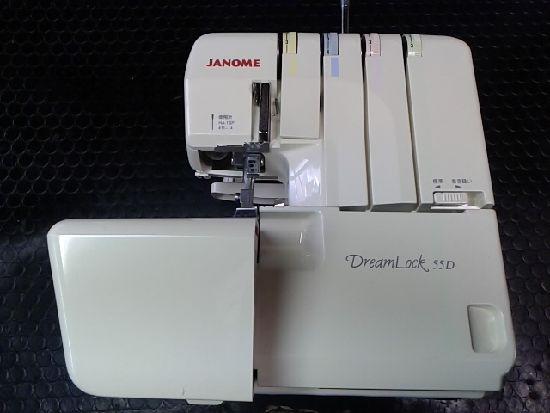 ジャノメロックミシンの画像ドリームロック55D