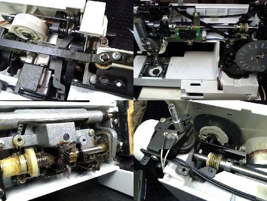 シンガープレジオ5770のミシン修理分解画像