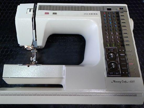 ジャノメミシンの画像メモリークラフト6500