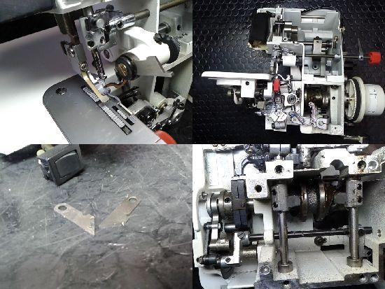 BL4-828DFのベビーロックミシン修理分解画像