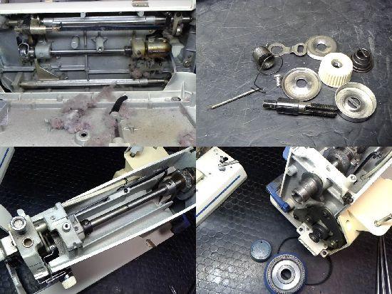 ブラザーヌーベルクチュールTA3-B626のミシン修理分解画像