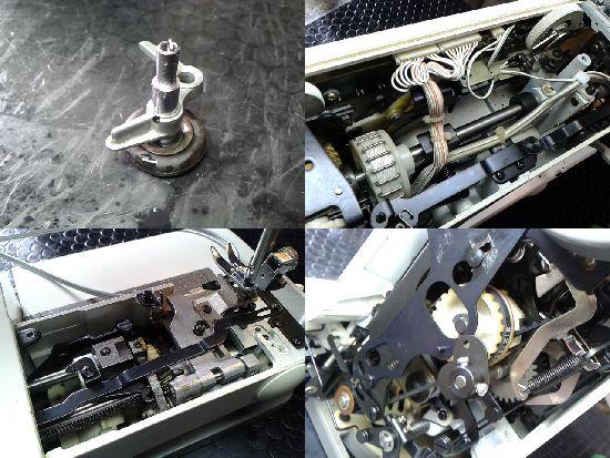 ブラザーZZ3-B769のミシン修理分解画像