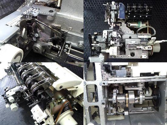 ジューキベビーロック衣縫人BL515のミシン修理分解画像
