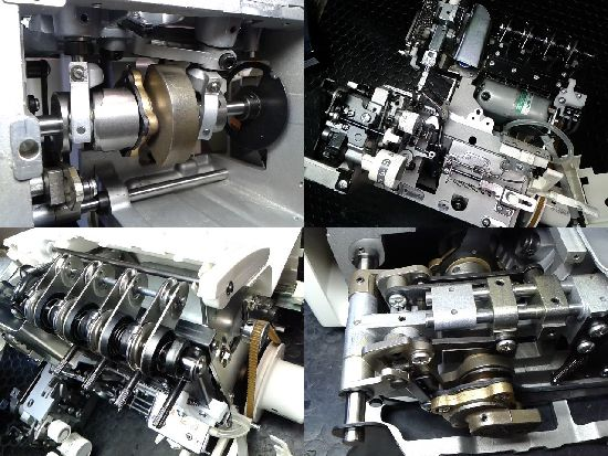 ベビーロック衣縫人BL517のミシン修理分解画像