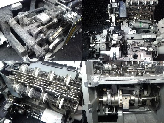 糸取物語BL660FEXのミシン修理分解画像