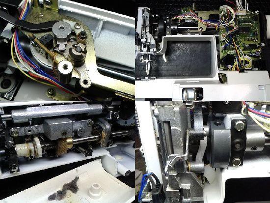 シンガーBonne(2600)のミシン修理分解画像