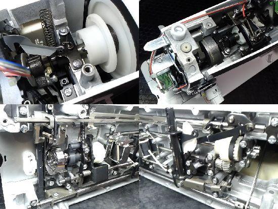 ブラザーヌーベルクチュールブンカのミシン修理分解画像