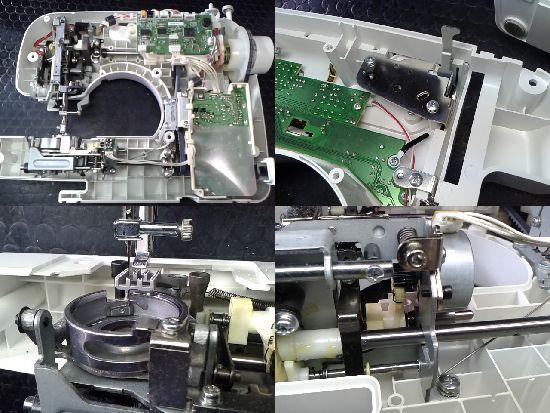 ブラザーCPS42のミシン修理分解画像