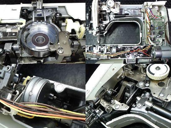 ブラザーCPS5232のミシン修理分解画像