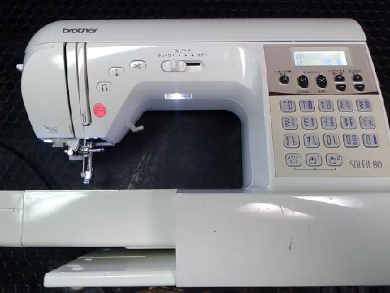 ブラザーミシンSOREIL80の画像