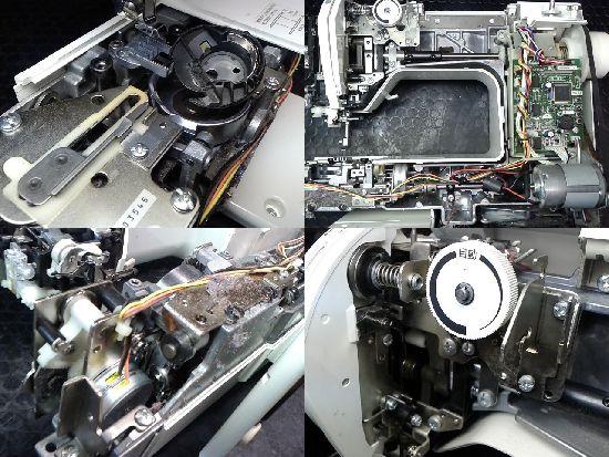 ブラザーソレイユ80(CPS77)のミシン修理分解画像