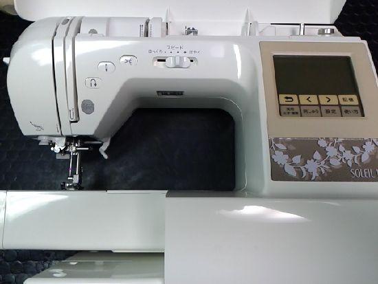 ブラザーミシンの画像ソレイユ120E