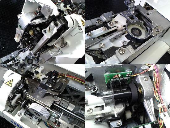 JUKI F250-Jのミシン修理分解画像